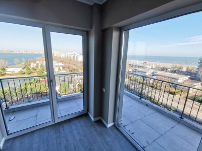 Penthouse 2 camere finisat complet cu vedere panoramica catre Mare si Lac Mamaia